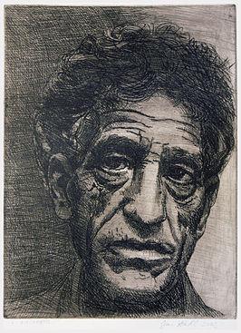 266px-Alberto-Giacometti,-etching-(author-Jan-Hladík-2002)