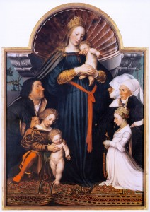 Hans Holbein, Darmstadtmadonna