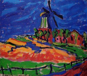 erich_heckel,_windmüle_bei_dangast,_1909,_olieverf_op_doek,_71_x_80,5_cm,_wilhelm_lehmbruck_museum,_duisburg